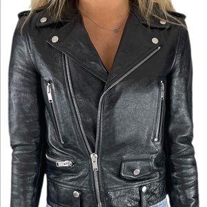 Saint Laurent Leather Lamb Jacket